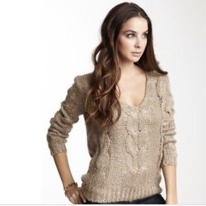Urban Outfitter  BB Dakota   Cable Knit Sw…